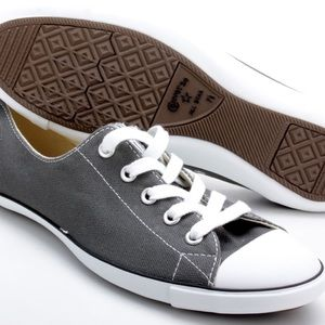 Converse charcoal sneakers